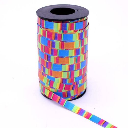 Decorations Crazy Stripes Curling Ribbon Image