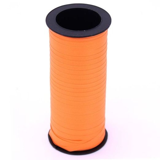 Decorations Neon Orange Curling Ribbon Image