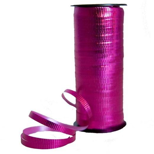 Balloons Metallic Hot Pink Curling Ribbon Image
