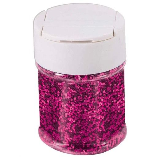 Decorations Hot Pink Glitter Image