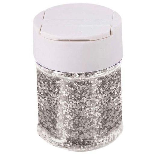 Decorations Silver Glitter Image