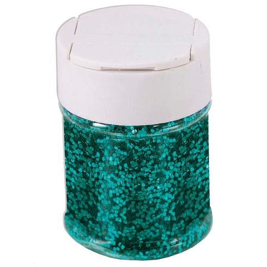 Decorations Teal Glitter Image