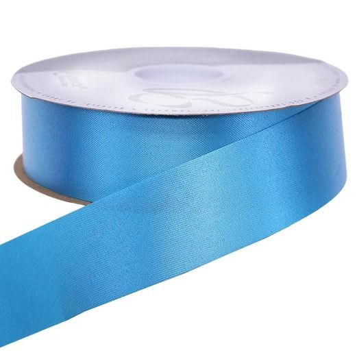 Decorations Turquoise Medium Satin Ribbon Image