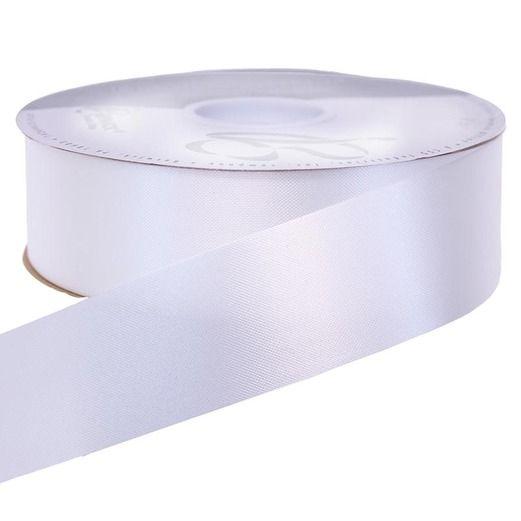 Decorations White Medium Satin Ribbon Image