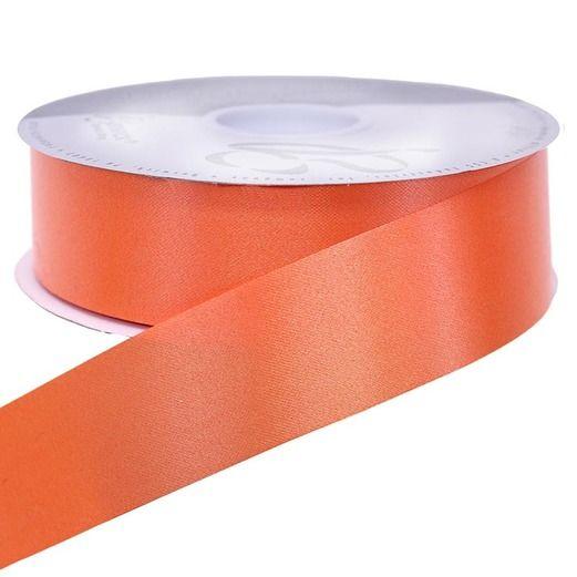 Decorations Orange Medium Satin Ribbon Image