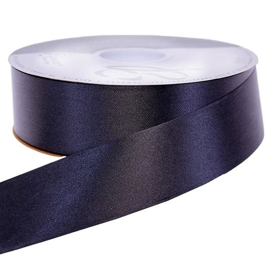 Decorations Black Medium Satin Ribbon Image