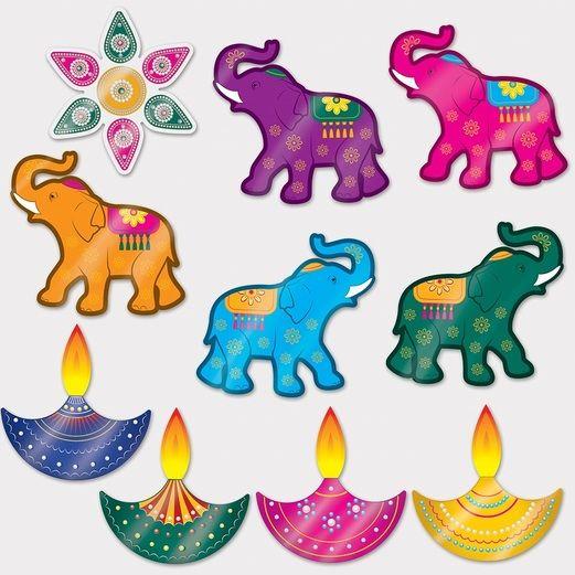 International Decorations Diwali Cutouts Image