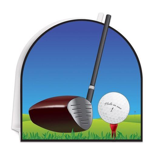 Sports Decorations 3-D Golf Centerpiece Image