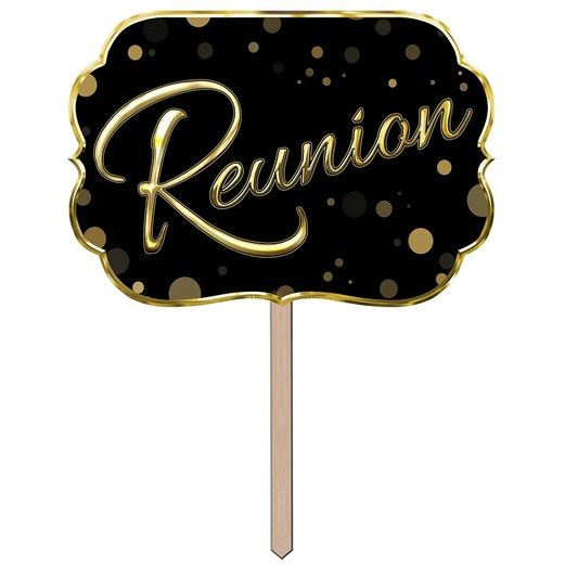 Decorations Reunion Yard Sign Image