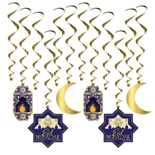 International Decorations Ramadan Whirls Image