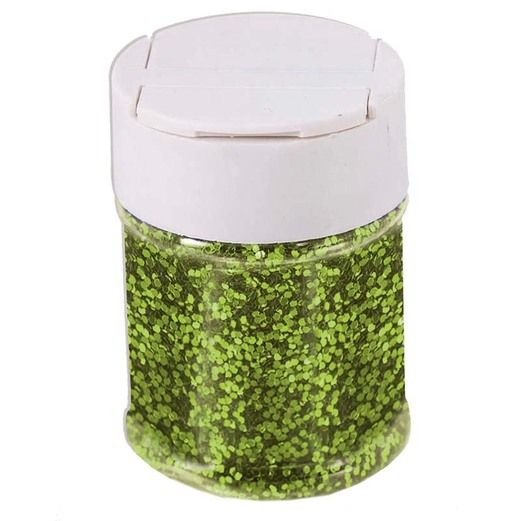 Decorations Lime Green Glitter Image