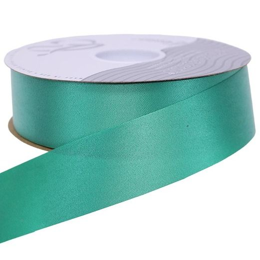 Decorations Emerald Green Medium Satin Ribbon Image