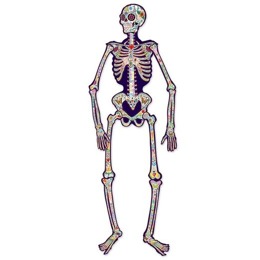 Day of the Dead Decorations Day of the Dead Jointed Skeleton Image