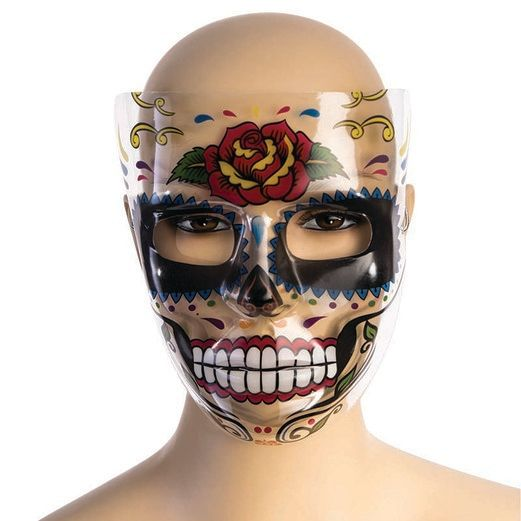 Day of the Dead Rose Mask