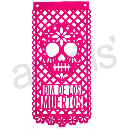 Day of the Dead Decorations Day of the Dead Felt Banners Image