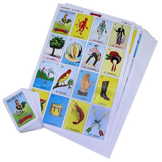 Cinco de Mayo Decorations Jumbo Loteria Bingo Image