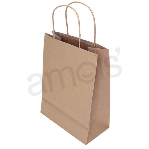 Gift Bags & Paper Medium Gift Bags Kraft Brown Image