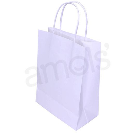 Wedding Gift Bags & Paper Medium White Gift Bag  Image