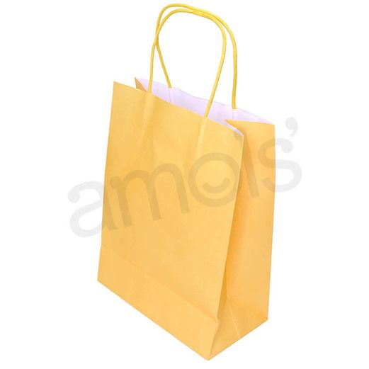 Gift Bags & Paper Medium Canary Yellow Gift Bag Image