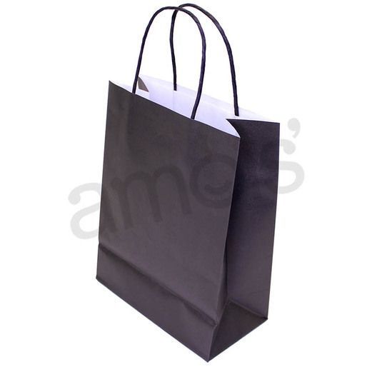 Gift Bags & Paper Medium Black Gift Bag  Image