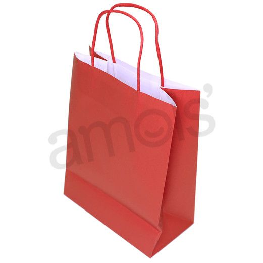 Valentine's Day Gift Bags & Paper Medium Red Gift Bag Image