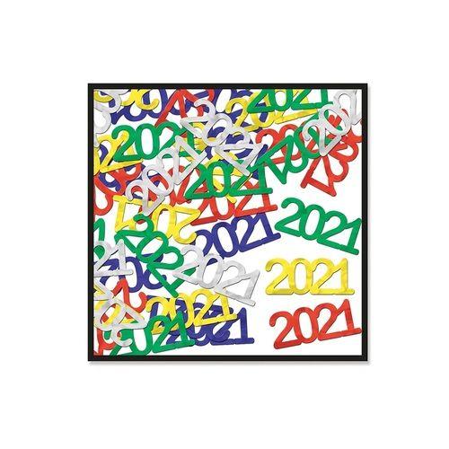 2021 Metallic Confetti