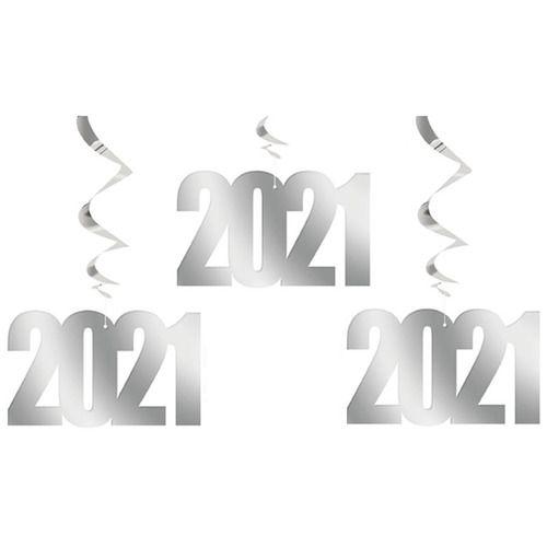 2021 Hanging Swirls