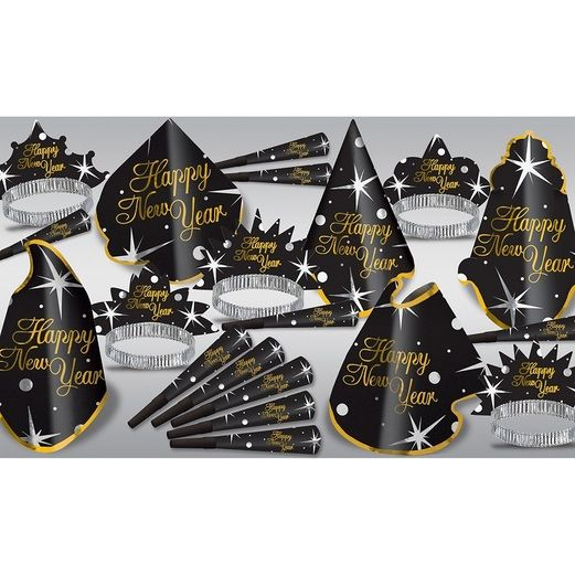 New Years Party Kits Shimmer Assortment for 10 Image