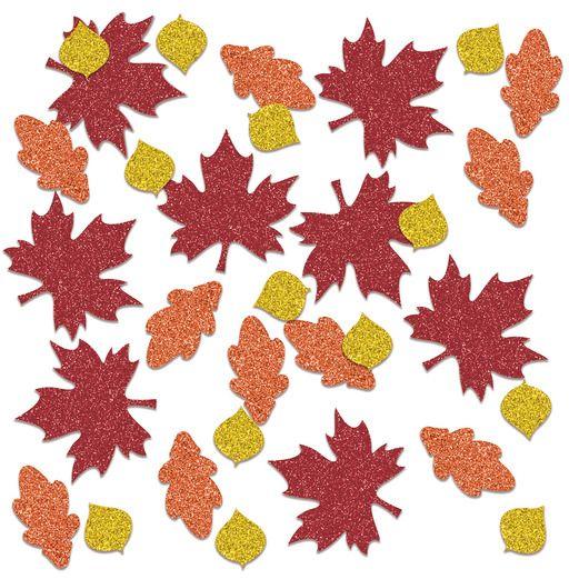 Confetti Fall Leaf Sparkle Confetti Image