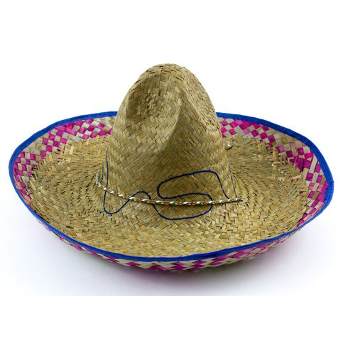 Mexican Colored Edge Sombrero
