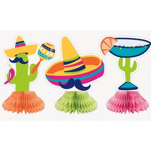 Cinco de Mayo Decorations Boho Fiesta Mini Centerpieces Image