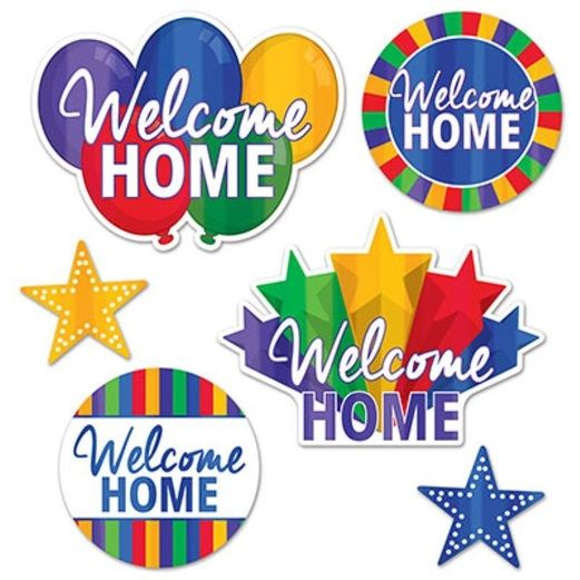 Welcome Home Cutouts
