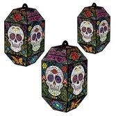 Decorations / Hanging Decorations Day of the Dead Paper Lanterns Image