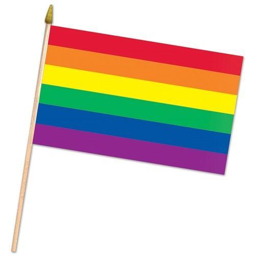 """Rainbow Flag 18"""" x 11"""""""