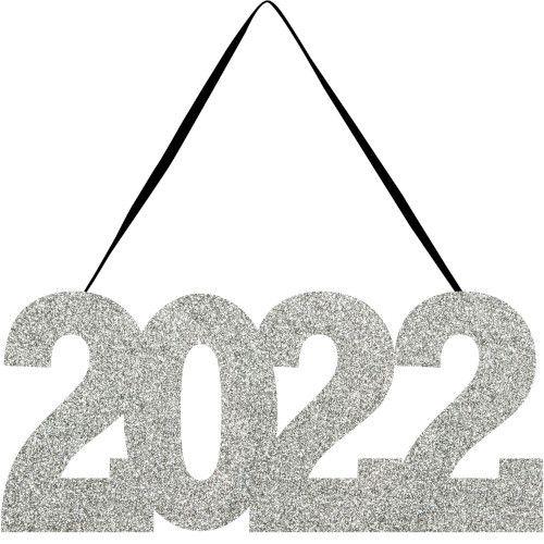 2022 Glittered Sign