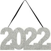 Decorations / Cutouts 2022 Glittered Sign Image
