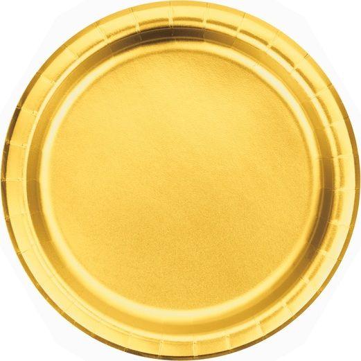"Gold Foil 7"" Plate"