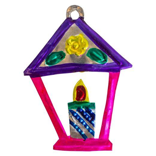 Lantern Tin Ornament