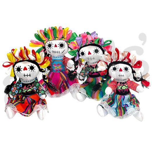 Large Skeleton Indita Doll